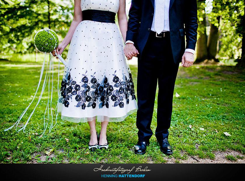 Hochzeitsfotograf Berlin Hochzeitsportrait im Schlosspark Glienicke