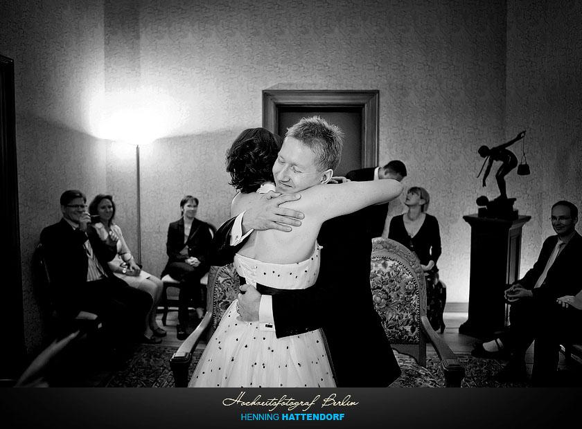 Hochzeitsfotograf Berlin Standesamt Villa Kogge