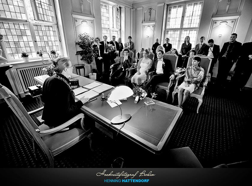 Hochzeit im Standesamt Schoeneberg