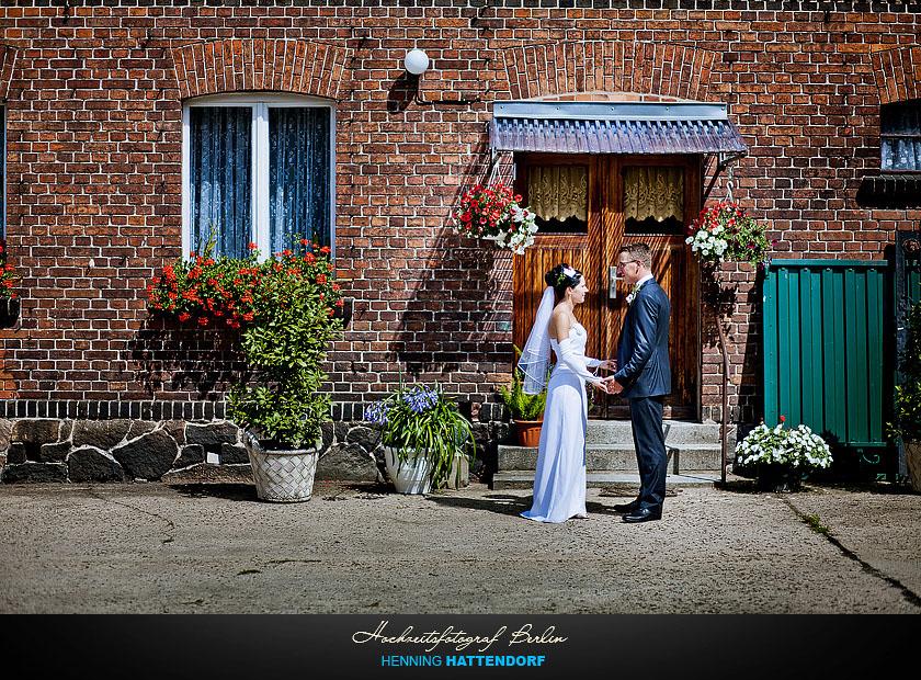 Hochzeitsportrait in Luebbenau