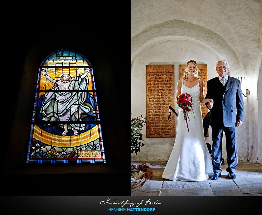 Hochzeit Dorfkirche Kirche Ledde