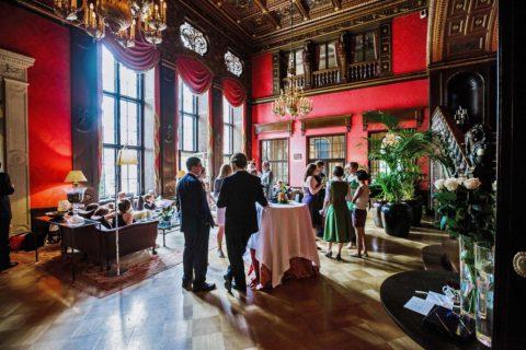Schlosshotel im Grunewald Hochzeitsfotograf Berlin
