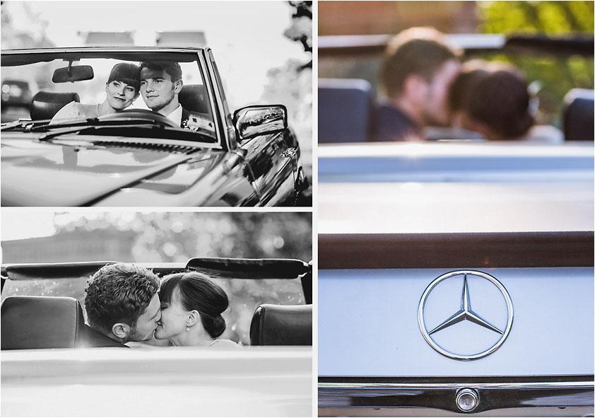 Hochzeitsfotograf Hochzeit Hochzeitsauto
