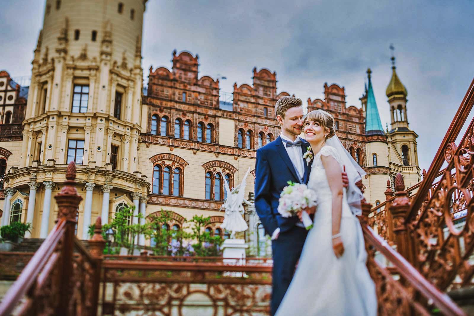 Hochzeitsfotograf am Schloss Schwerin Copyright by Hochzeitsfotograf www.berliner-hochzeitsfotografie.de