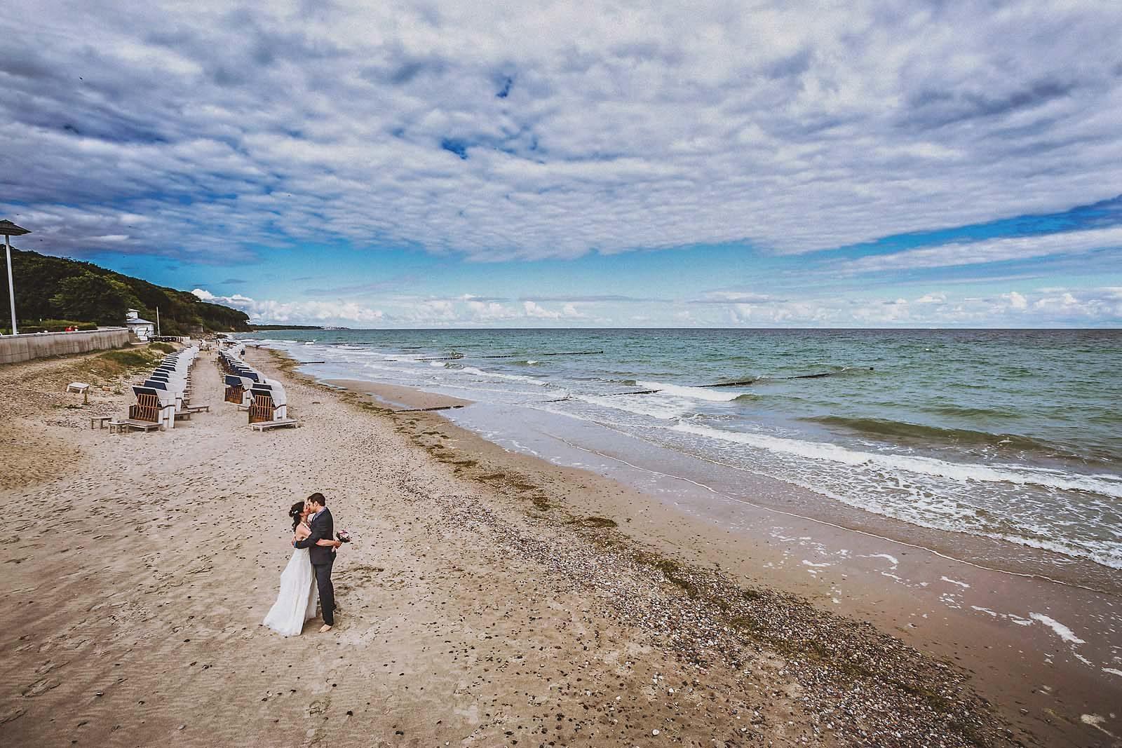Hochzeit am Strand von Heiligendamm
