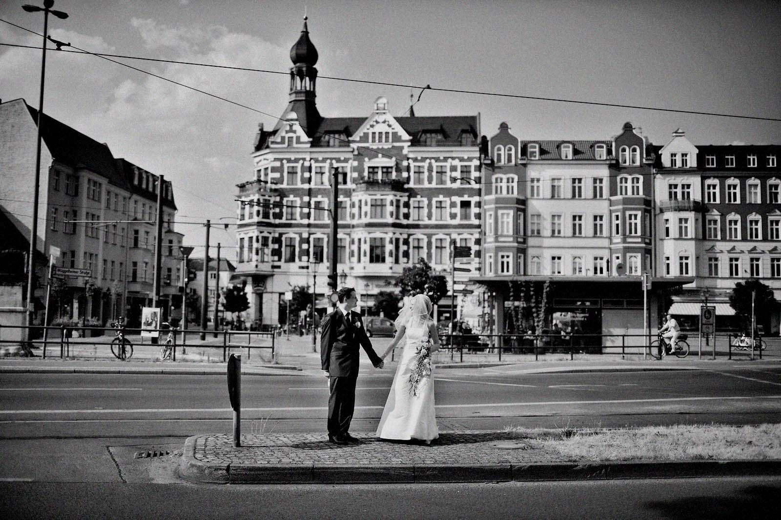 Als Hochzeitsfotograf Berlin in der Altstadt von Köpenick