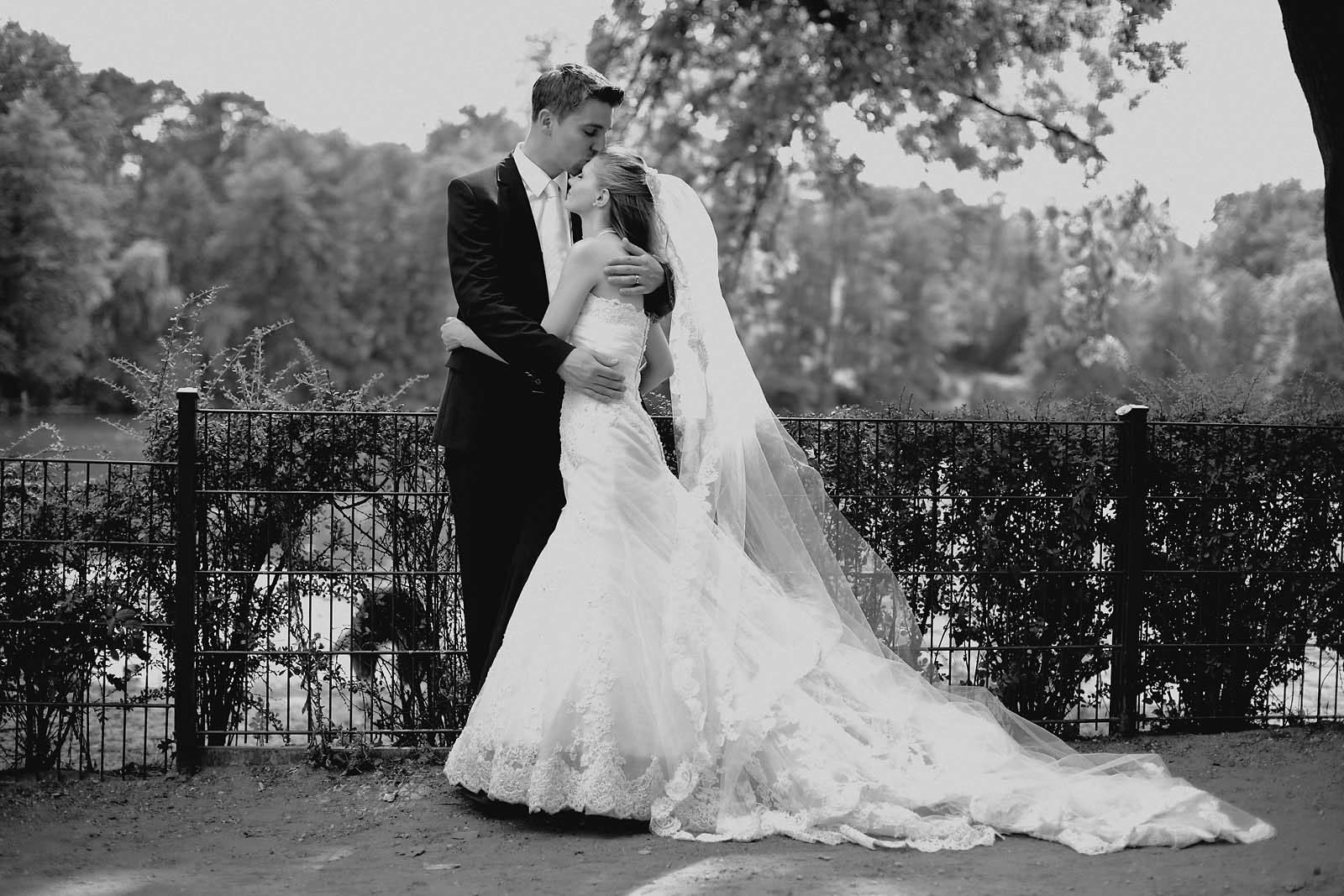 Als Hochzeitsfotograf in der Hochzeitsvilla Zehlendorf in Berlin