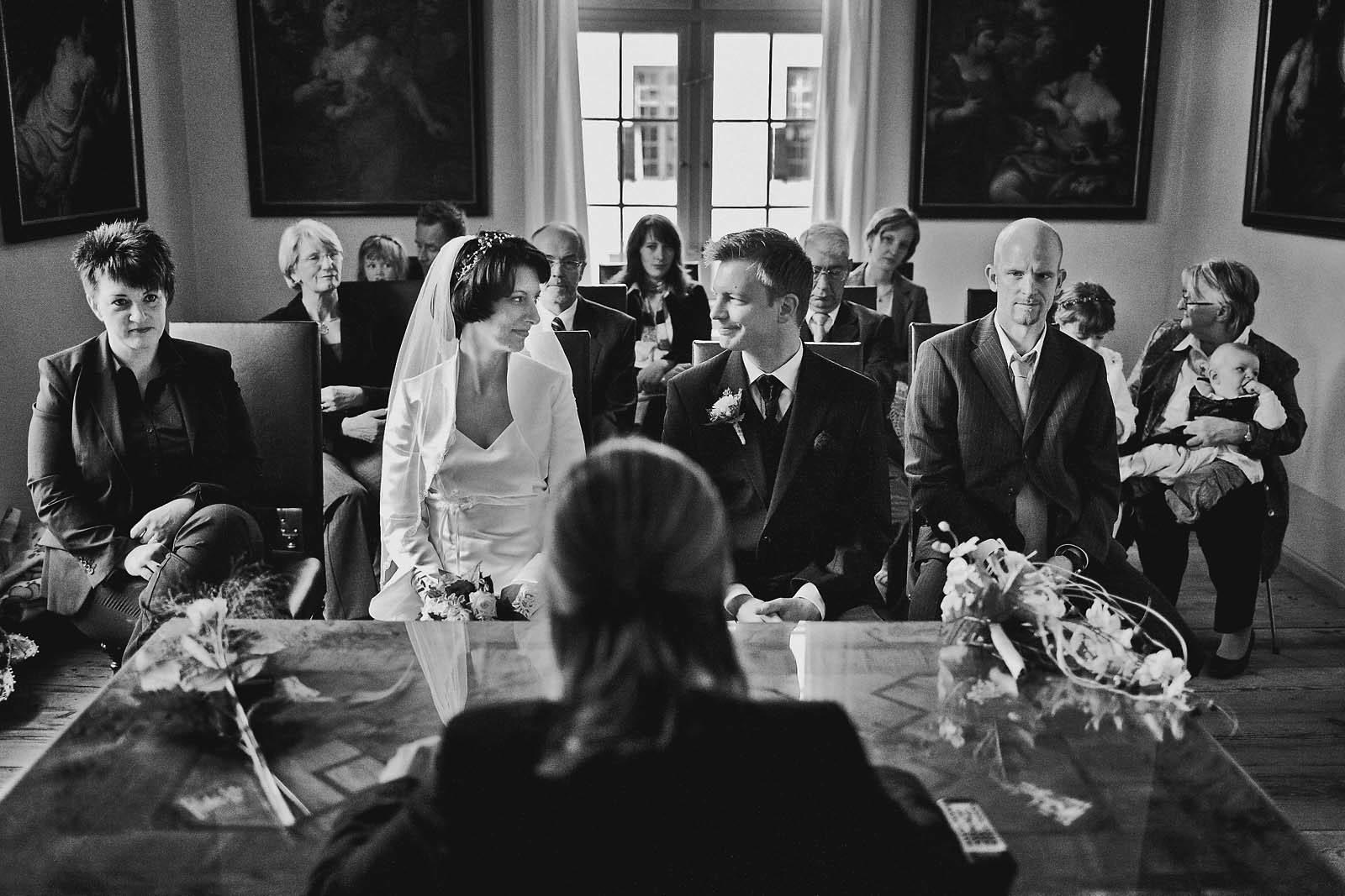 Hochzeitsfotograf im Standesamt Schloss Caputh